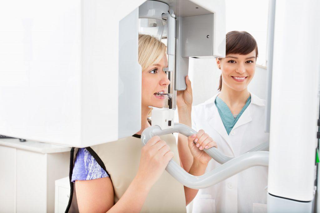 ortodontia digital - raio x panorâmico