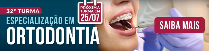 Curso de Especialização em Ortodontia - Turma 32 - 25/07